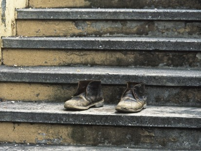 Tumbling Down Joyce's Stairs