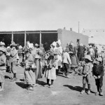 Boer civilians in concentration camp