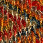 Rear of tapestry