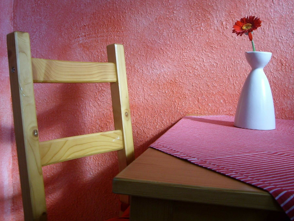 A Table And Chair