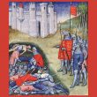 Jean Froissart, Chroniques (Vol. I): Edward III counting the dead on the battlefield of Crécy